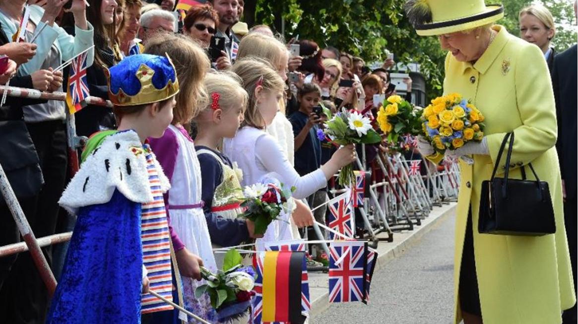 Queen Elizabeth in Germany 2015